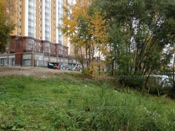 View to: Nekrasova street, 16. Yekaterinburg (Sverdlovskaya oblast)