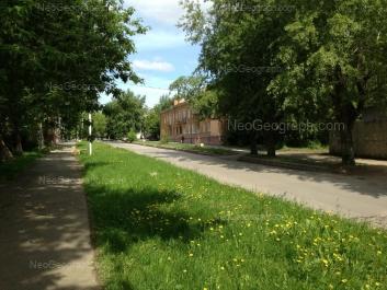 View to: XXII partsiezda street, 4. Yekaterinburg (Sverdlovskaya oblast)