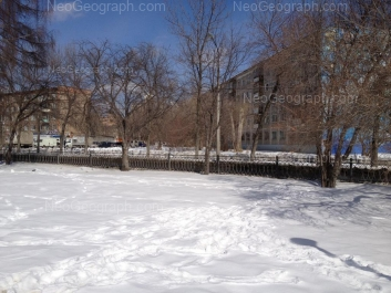 View to: Posadskaya street, 59; Posadskaya street, 63. Yekaterinburg (Sverdlovskaya oblast)