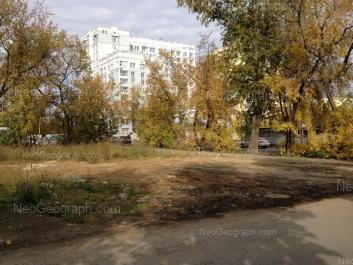 На фото видно: Степана Разина улица, 95. Екатеринбург (Свердловская область)