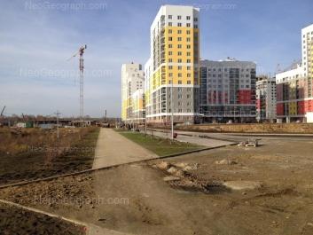 View to: Krasnolesiya street, 155; Krasnolesiya street, 157. Yekaterinburg (Sverdlovskaya oblast)