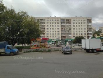 На фото видно: Агрономическая улица, 30. Екатеринбург (Свердловская область)