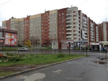 View to: Uralskaya street, 59. Yekaterinburg (Sverdlovskaya oblast)