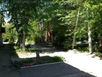View to: Suvorovskiy lane, 18. Yekaterinburg (Sverdlovskaya oblast)