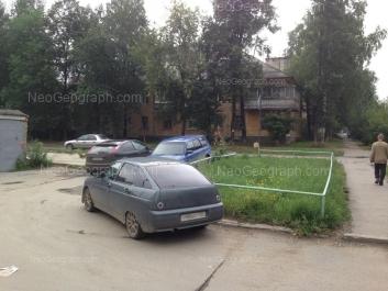 На фото видно: Лобкова улица, 8. Екатеринбург (Свердловская область)