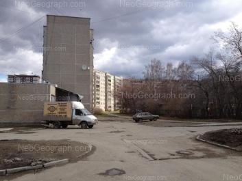 View to: Opalihinskaya street, 27. Yekaterinburg (Sverdlovskaya oblast)