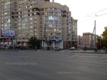 View to: Omskaya street, 103; Uralskaya street, 3. Yekaterinburg (Sverdlovskaya oblast)