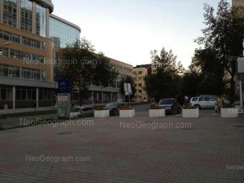 View to: Mamina-Sibiriaka street, 101 (Манхэттен, бизнес-центр); Mamina-Sibiriaka street, 111. Yekaterinburg (Sverdlovskaya oblast)