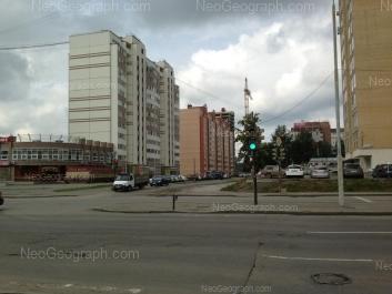 View to: Bakinskikh Komissarov street, 113; Vosstaniya street, 99a; Vosstaniya street, 99; Vosstaniya street, 101 (Перспектива, жилой комплекс); Vosstaniya street, 116. Yekaterinburg (Sverdlovskaya oblast)