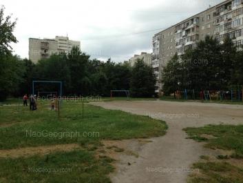 View to: Bakinskikh Komissarov street, 58; Bakinskikh Komissarov street, 61; Bakinskikh Komissarov street, 62; Lomonosova street, 57а. Yekaterinburg (Sverdlovskaya oblast)