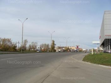 View to: Bebeliya street, 33. Yekaterinburg (Sverdlovskaya oblast)
