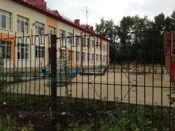 View to: Chernoyarskaya street, 18 (Детский сад №387). Yekaterinburg (Sverdlovskaya oblast)