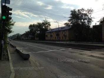 View to: Bakinskikh Komissarov street, 38. Yekaterinburg (Sverdlovskaya oblast)