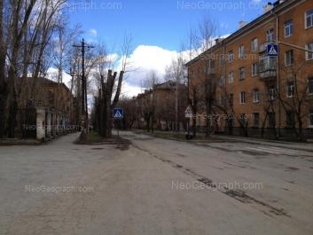 View to: Kourovskaya street, 15; Kourovskaya street, 22; Kourovskaya street, 24; Taezhnaya street, 2. Yekaterinburg (Sverdlovskaya oblast)