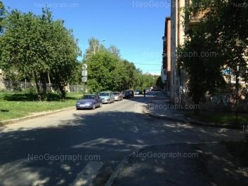 На фото видно: Банникова улица, 4. Екатеринбург (Свердловская область)