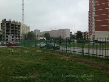 На фото видно: Парниковая улица, 1. Екатеринбург (Свердловская область)