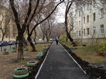 View to: Generalskaya street, 11; Generalskaya street, 12 (Детский сад №98, Домовенок); Pervomaiskaya street, 69; Pervomaiskaya street, 70. Yekaterinburg (Sverdlovskaya oblast)