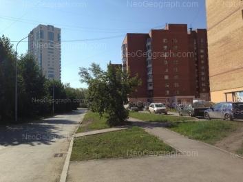 View to: Aptekarskaya street, 47; Aptekarskaya street, 48 (Чермет плаза, жилой комплекс). Yekaterinburg (Sverdlovskaya oblast)