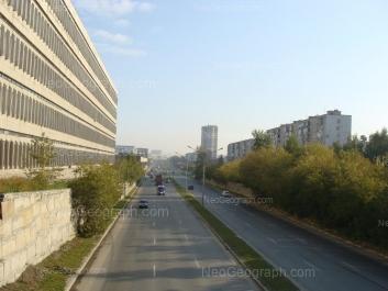 View to: Nachdiva Vasilieva street, 1/3; Serafimi Deriyabinoy street, 29; Serafimi Deriyabinoy street, 33. Yekaterinburg (Sverdlovskaya oblast)