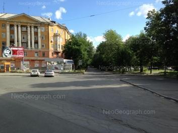 View to: Stakhanovskaya street, 1; Stakhanovskaya street, 2. Yekaterinburg (Sverdlovskaya oblast)