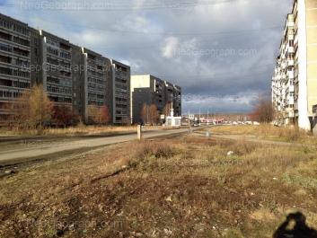 View to: Latviiskaya street, 37; Latviiskaya street, 41. Yekaterinburg (Sverdlovskaya oblast)