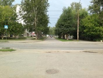 View to: Chernomorskiy lane, 8. Yekaterinburg (Sverdlovskaya oblast)