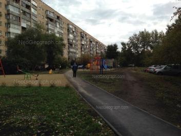 На фото видно: Татищева улица, 77. Екатеринбург (Свердловская область)