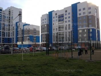 View to: Vilgelma de Gennina street, 42; Pavla Shamanova street, 36. Yekaterinburg (Sverdlovskaya oblast)