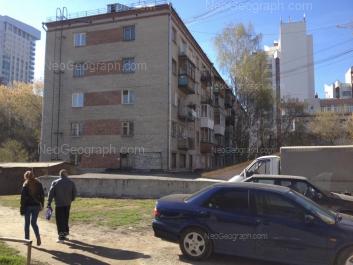 View to: Gurzufskaya street, 16; Moskovskaya street, 48А; Moskovskaya street, 48Б; Moskovskaya street, 48г; Moskovskaya street, 77 (Москва, жилой квартал). Yekaterinburg (Sverdlovskaya oblast)