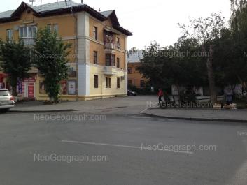 View to: Zavodskaya street, 15/7; Zavodskaya street, 15 к5. Yekaterinburg (Sverdlovskaya oblast)