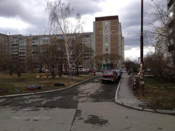 View to: Cherepanova street, 30. Yekaterinburg (Sverdlovskaya oblast)