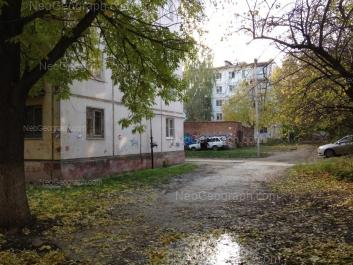View to: Inzhenernaya street, 21 к1; Inzhenernaya street, 21 к2. Yekaterinburg (Sverdlovskaya oblast)