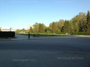 View to: Mira street, 19 (Уральский федеральный университет, УрФУ). Yekaterinburg (Sverdlovskaya oblast)