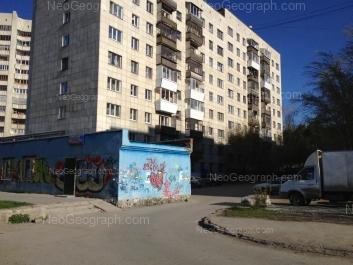 На фото видно: Гурзуфская улица, 36; Гурзуфская улица, 38. Екатеринбург (Свердловская область)