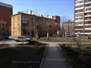 View to: Bebeliya street, 119; Lesnaya street, 38А; Lesnaya street, 38; Lesnaya street, 40. Yekaterinburg (Sverdlovskaya oblast)