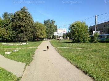 View to: Titova street, 27a; Titova street, 46. Yekaterinburg (Sverdlovskaya oblast)