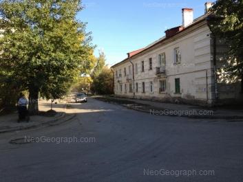 View to: Akademika Gubkina street, 75; Inzhenernaya street, 20. Yekaterinburg (Sverdlovskaya oblast)
