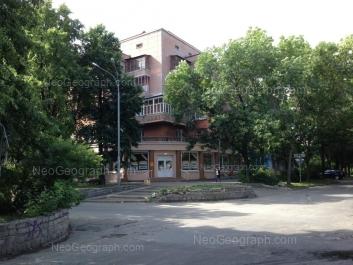 View to: Bannikova street, 3; Krasnikh Partizan street, 1. Yekaterinburg (Sverdlovskaya oblast)