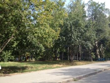 View to: Khrustalnaya street, 45. Yekaterinburg (Sverdlovskaya oblast)
