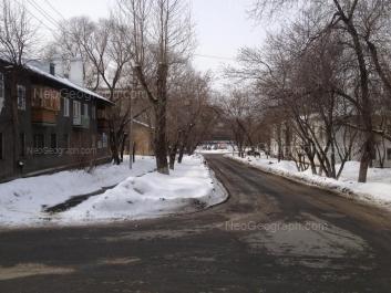 View to: Sovetskaya street, 1Б; Sovetskaya street, 2А; Sovetskaya street, 2Б. Yekaterinburg (Sverdlovskaya oblast)