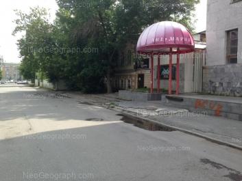 На фото видно: Володарского улица, 7А. Екатеринбург (Свердловская область)