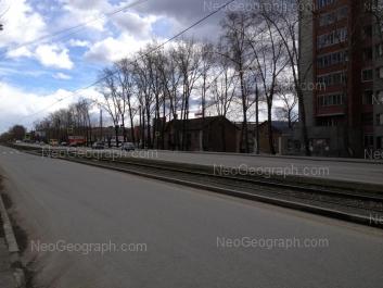 View to: Kourovskaya street, 6; Minometchikov street, 48; Tekhnicheskaya street, 63 (Семь ключей, торговый центр); Tekhnicheskaya street, 65; Tekhnicheskaya street, 67. Yekaterinburg (Sverdlovskaya oblast)