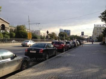 View to: Lenina avenue, 48; Lenina avenue, 51 (УрФУ); Lenina avenue, 53. Yekaterinburg (Sverdlovskaya oblast)
