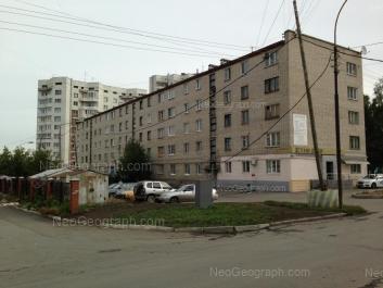 View to: Nagornaya street, 46; Tokarey street, 24. Yekaterinburg (Sverdlovskaya oblast)
