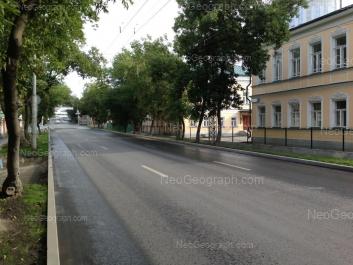 View to: Rozi Luksemburg street, 65; Rozi Luksemburg street, 67. Yekaterinburg (Sverdlovskaya oblast)