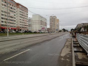 View to: Bakinskikh Komissarov street, 107; Bakinskikh Komissarov street, 109; Bakinskikh Komissarov street, 113. Yekaterinburg (Sverdlovskaya oblast)