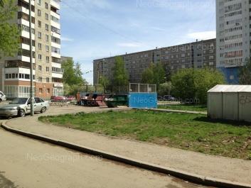 View to: Pekhotintsev street, 21б; Pekhotintsev street, 21а; Pekhotintsev street, 21. Yekaterinburg (Sverdlovskaya oblast)
