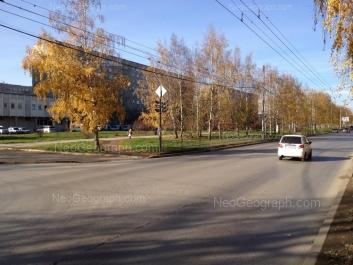 View to: Akademika Bardina street, 37; Akademika Bardina street, 41; Akademika Bardina street, 41. Yekaterinburg (Sverdlovskaya oblast)