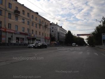 На фото видно: 8 Марта улица, 144; 8 Марта улица, 146; Щорса улица, 92. Екатеринбург (Свердловская область)