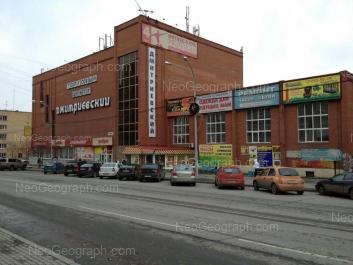 View to: Surikova street, 47; Surikova street, 51 (Дмитриевский, торговый центр); Surikova street, 51 (Дмитриевский, торговый центр). Yekaterinburg (Sverdlovskaya oblast)